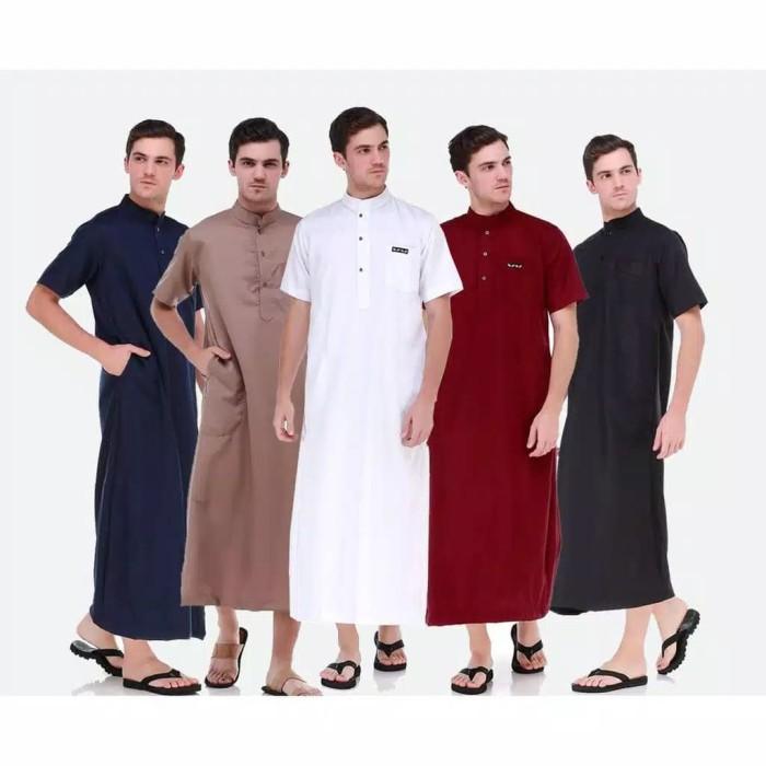 Jual Baju Jubah Saudi Pria Gamis Muslim Pakaian Muslim Murah Keren Terbaru Kota Bandung Ab Muslim Jaya Tokopedia