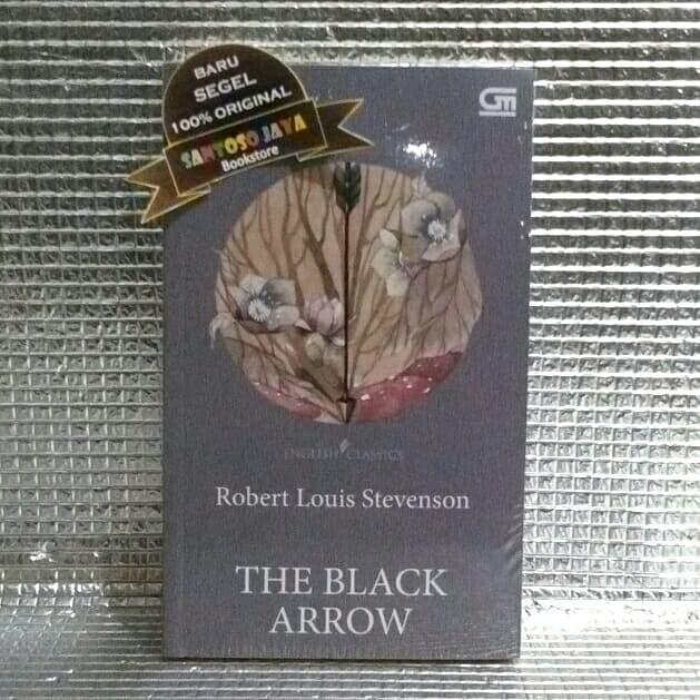 Foto Produk English Classics: The Black Arrow by Robert Louis Stevenson dari Santoso Jaya Bookstore