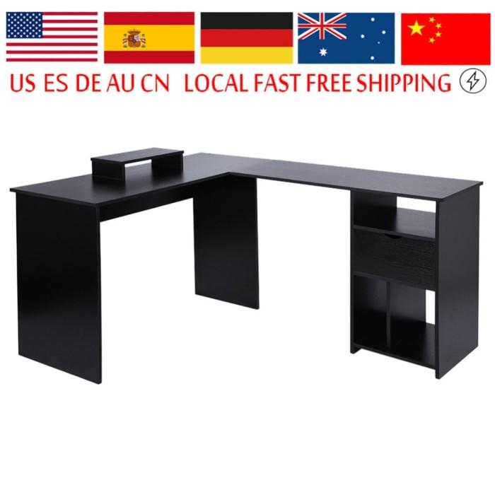 Computer Desk Large Corner Pc Table
