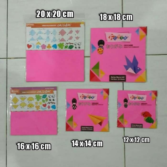 Foto Produk Kertas Lipat ( Origami ) Forte 14 x 14 cm - 25 lbr dari TG Stationery JKT
