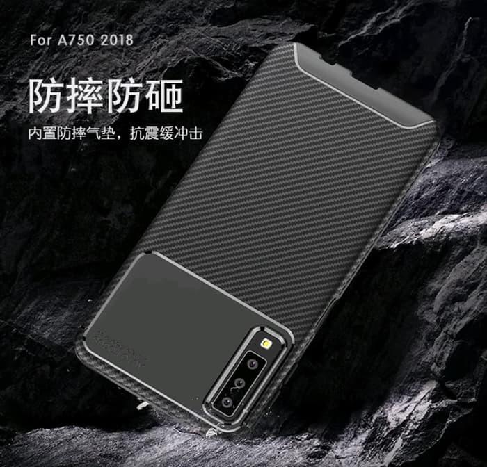 Foto Produk SAMSUNG GALAXY A50S A507 AUTO FOCUS CARBON ORIGINAL SOFT CASE SILICONE dari Alibaba Official Acc