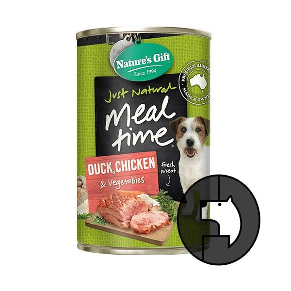 Foto Produk natures gift 700 gr dog chicken duck vegetables meal time dari F.J. Pet Shop