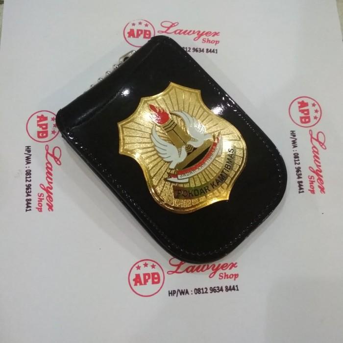 harga Name tag id card holder dompet kalung lencana kta pokdar kamtibmas Tokopedia.com
