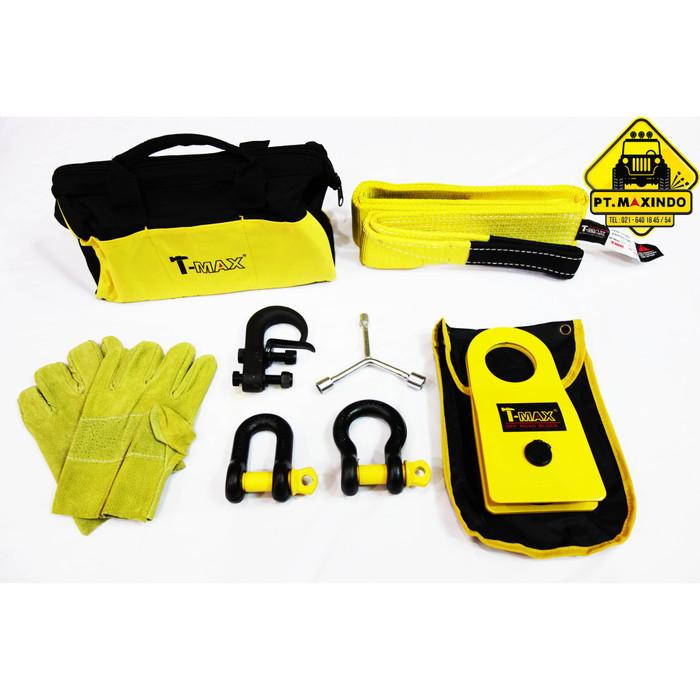 harga T-max offroad recovery kit / aksesoris kit untuk winch Tokopedia.com
