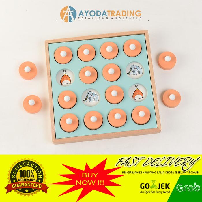 Foto Produk Thinking Memory Baby Board Game Mainan Memori Bayi dari Ayoda Trading