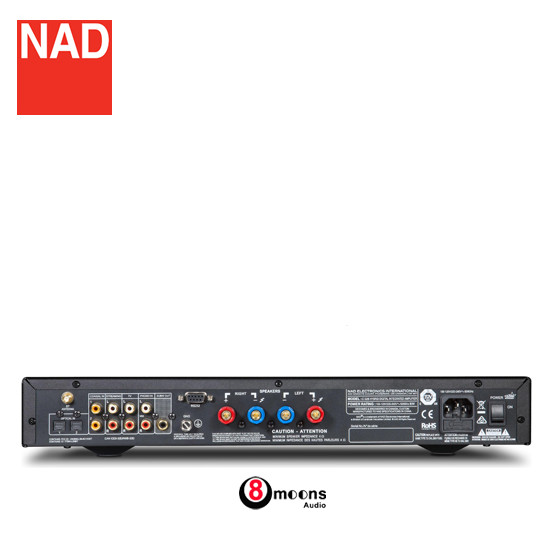 Jual NAD C 328 Stereo Integrated Amplifier with Built-in DAC and Bluetooth  - Jakarta Barat - 8moons Audio | Tokopedia