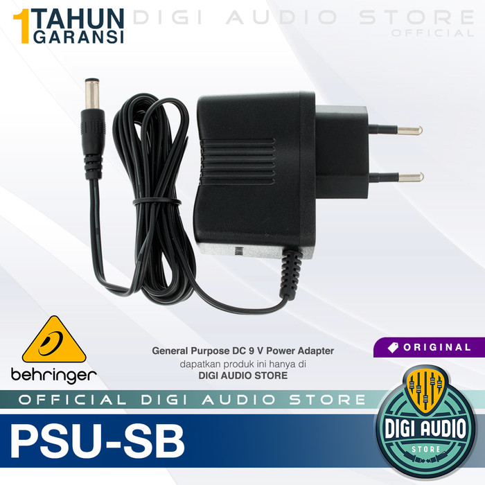 harga Behringer psu-sb 9v power adaptor for gitar bass efek pedal stompbox Tokopedia.com
