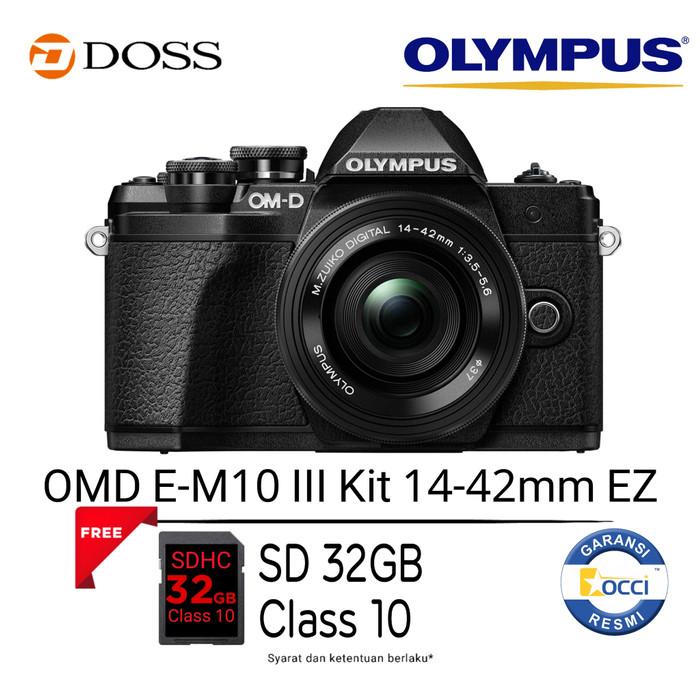 harga Olympus omd e-m10 iii kit 14-42 ez/omd e-m10 mark 3/omd em10 iii Tokopedia.com