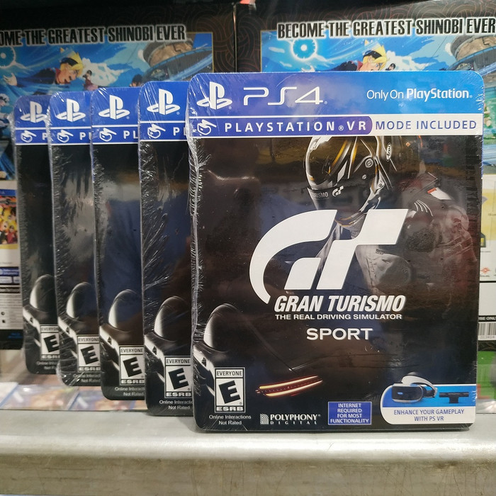 Jual Gran Turismo Sport PS4 - Jakarta Pusat - Ultimated Games | Tokopedia
