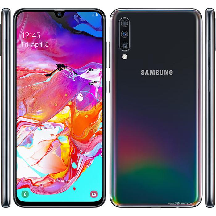 Hasil gambar untuk Samsung Galaxy A70 6/128 RAM 6GB ROM 128GB png