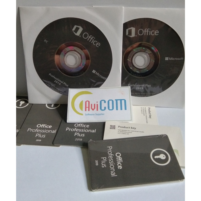 Jual Ms  Office 2019 Pro Plus Key Card & DVD Installer ORIGINAL - Kab   Sumedang - AVI Comp | Tokopedia