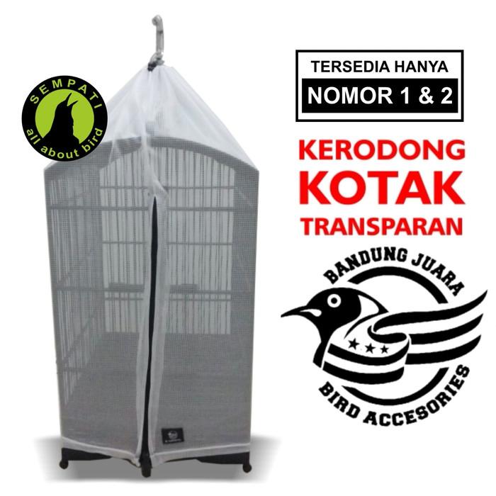 harga Krodong sangkar burung kotak transparan no. 123 bandung juara Tokopedia.com