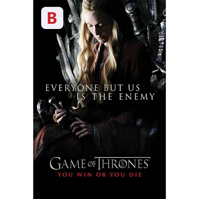 Jual 4 Mini Poster Game Of Thrones - Bonus Movie dan Google Drive (SKU006)  - Jakarta Timur - Varlan Store   Tokopedia