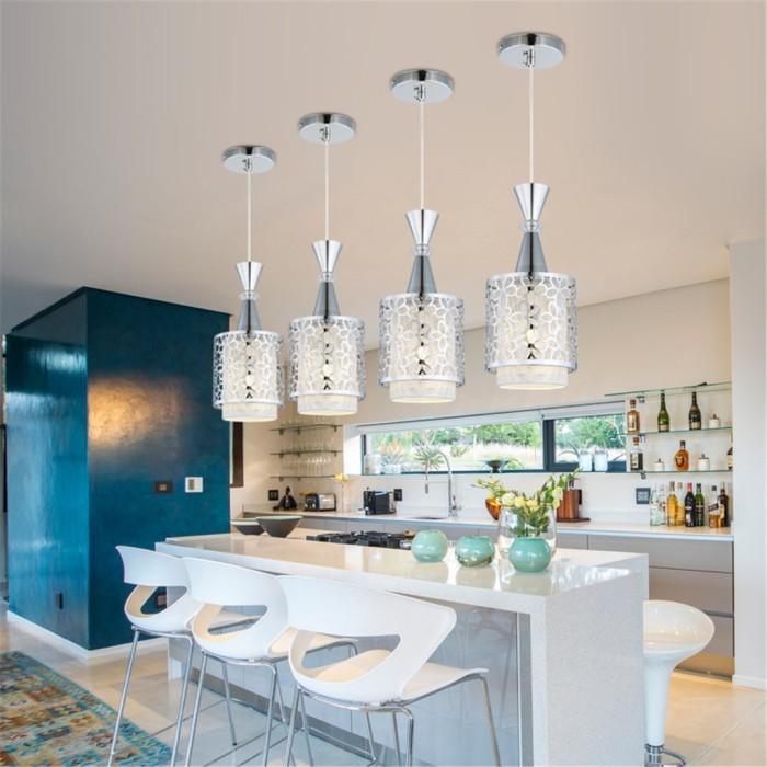 Jual Sale Modern Crystal Iron Ceiling Light Pendant Lamp Dining Room Dki Jakarta C Tik Cetik Tokopedia