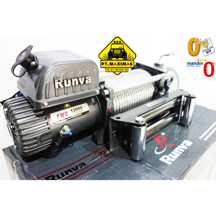 harga Runva electric winch ewx-12000 / 12.0x kapasitas 54 ton Tokopedia.com