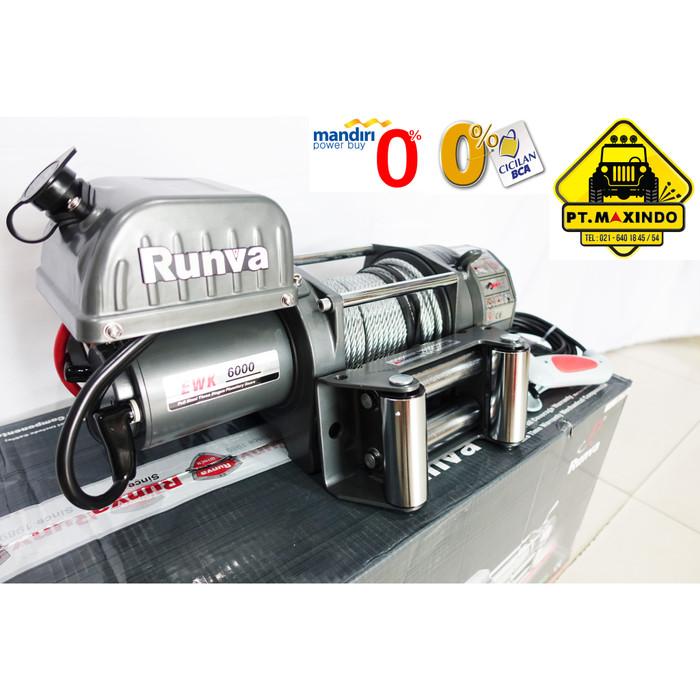 harga Runva electric winch murah tipe ewk-6000 / k 6.0 kapasitas 27 ton Tokopedia.com