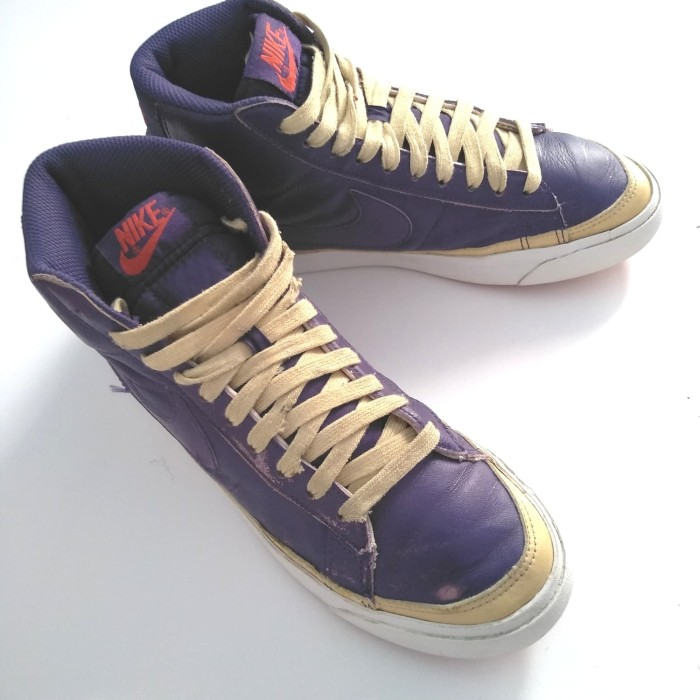 wholesale dealer 2b44c 7c14b Jual NIKE BLAZER HIGH 09 ND ASTER PURPLE - , - Kota Tegal - cosakuu_store |  Tokopedia