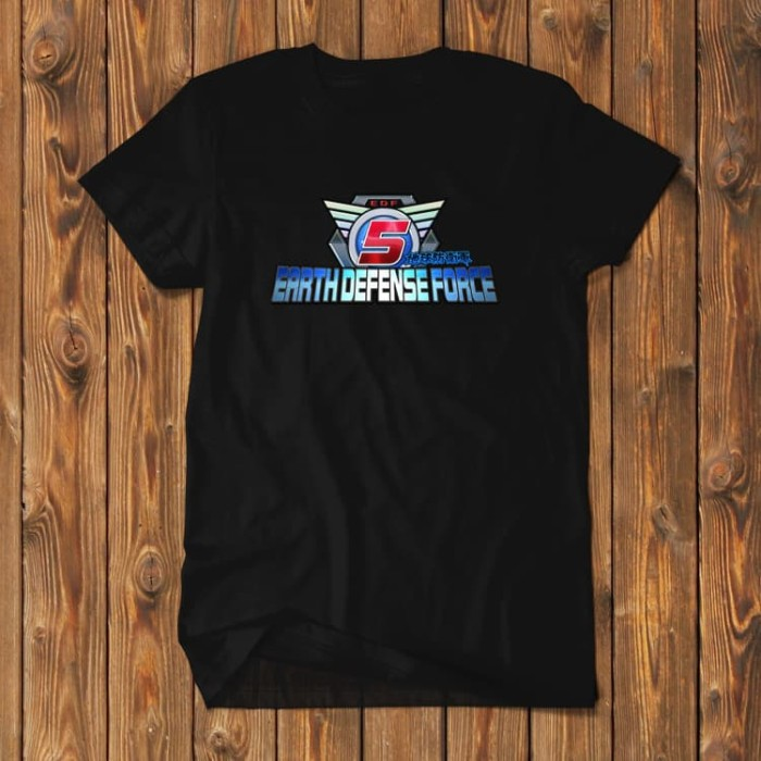 Foto Produk Earth Defense Force EDF PS4 Playstation BD Kaos EDF-02 dari Supplier Kaos Custom