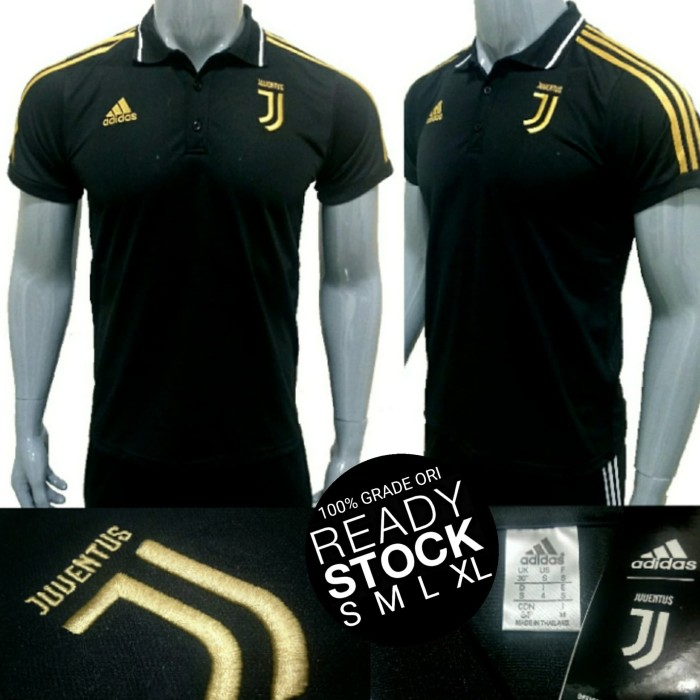 7d0be1d3cff KAOS POLO SHIRT JUVENTUS HOME AWAY 3RD UCL 2018-2019 GRADE ORI