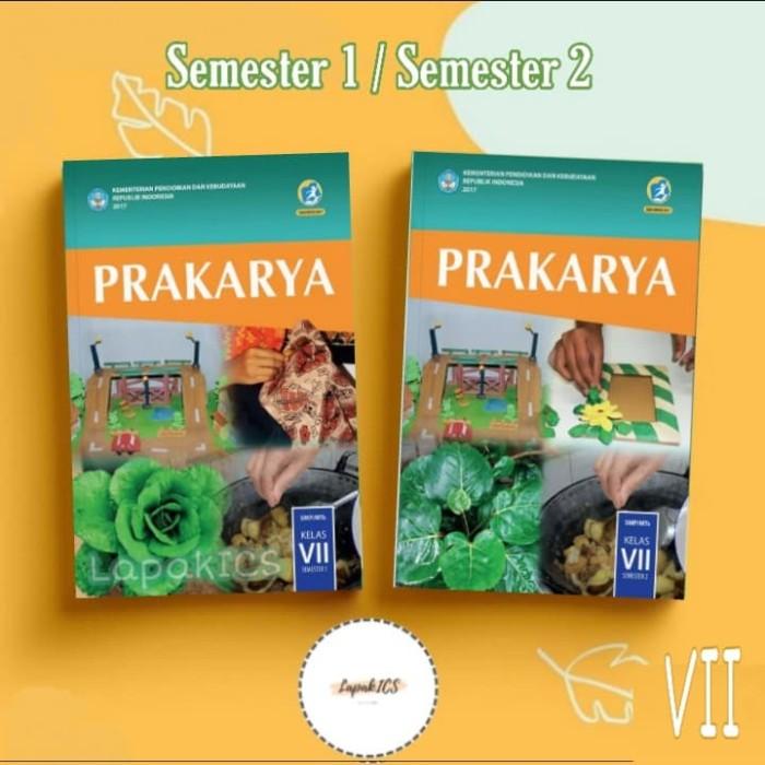 Foto Produk Buku Prakarya SMP Kelas 7 Semester 2 Revisi 2017 2018 dari Hijau TuppyOn