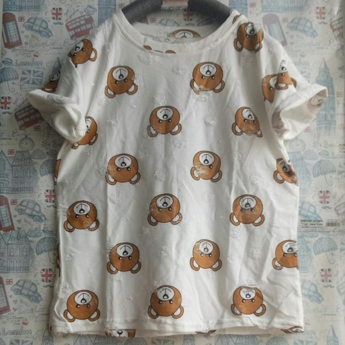 harga Kaos wanita teddy bear/kaos cewe murah/kaos oblong/kaos import Tokopedia.com