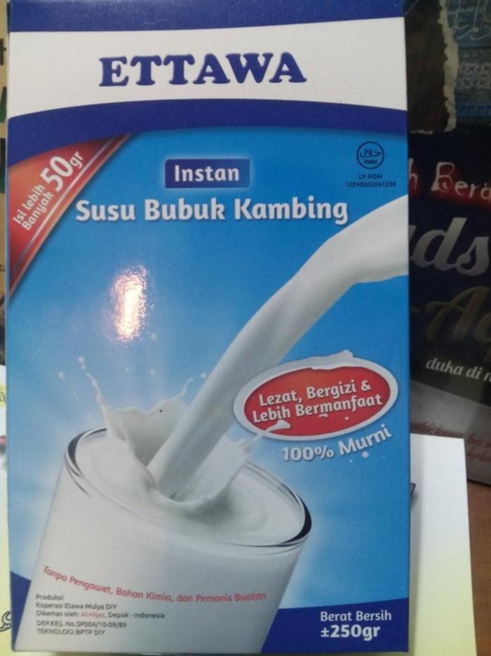 Jual Murah Susu Bubuk Kambing Ettawa Tanpa Pengawet Bahan Kimia Dan Jakarta Barat Dian Kusuma35 Tokopedia