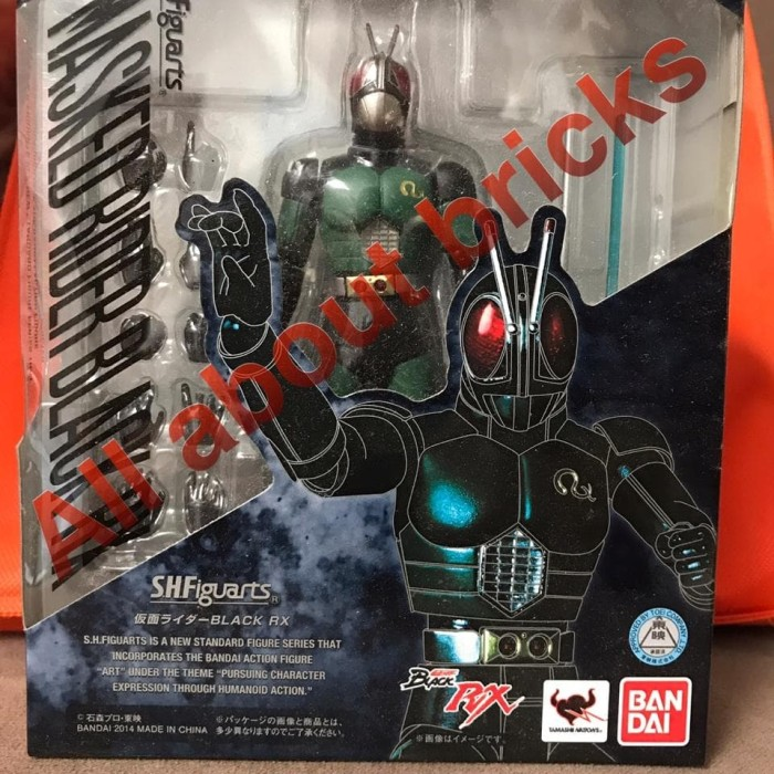 Jual SHF Kamen Rider Black RX Renewal MISB Original Bandai - Kota Tangerang  Selatan - All About Bricks | Tokopedia