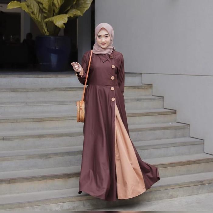 Jual Ready Stock Hallian Maxy Ml Baju Muslim Wanita Casual Ootd Kab Bandung Barat Violetta Shope Tokopedia