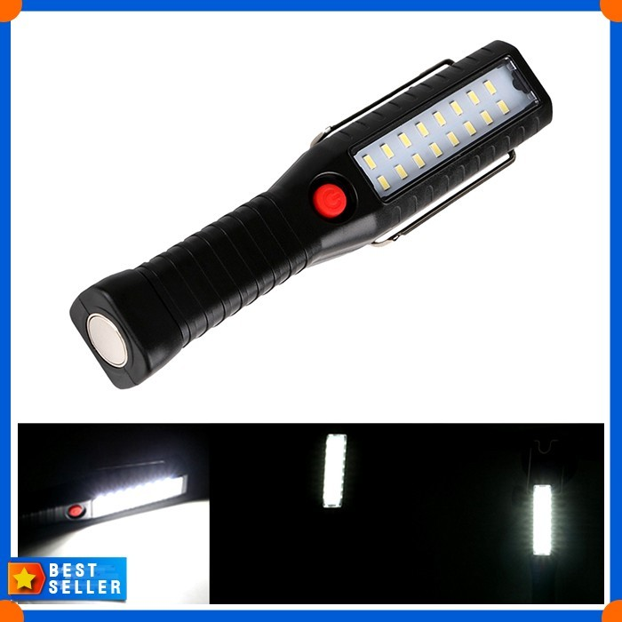 USB Rechargeable Outdoor Camping Light COB LED Waterproof Lamp Large Size EH