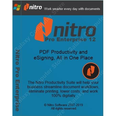 Jual Nitro Pro Enterprise For Windows - Kota Malang - Galaxy Computer Store  | Tokopedia