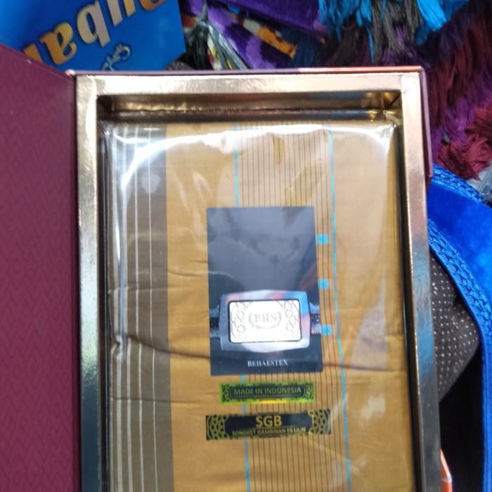 Foto Produk sarung tenun BHS EXCELLENT new dari zhafirawafa collection