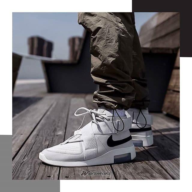 Jual Sneakers Sepatu Nike Air Fear Of God Raid Light Bone