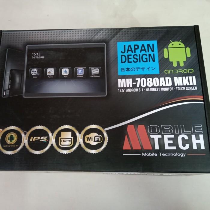 harga Headrest monitor clip on mtech 125  android mh-7080ad mkii Tokopedia.com