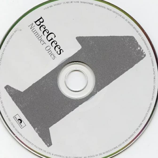 Jual CD MUSIC BEE GEES - NUMBER ONES - Jakarta Utara - AMANDA CD | Tokopedia