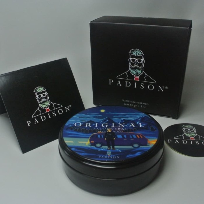 Image result for Padison waterbased original pomade aloe vera pomade