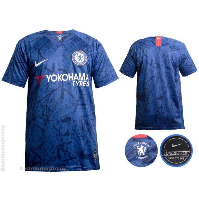 official photos 9c462 3a7f1 Jual Jersey Bola Chelsea Home 2019/2020 Grade ori (Musim baru) - S - DKI  Jakarta - Distributor Jersey | Tokopedia
