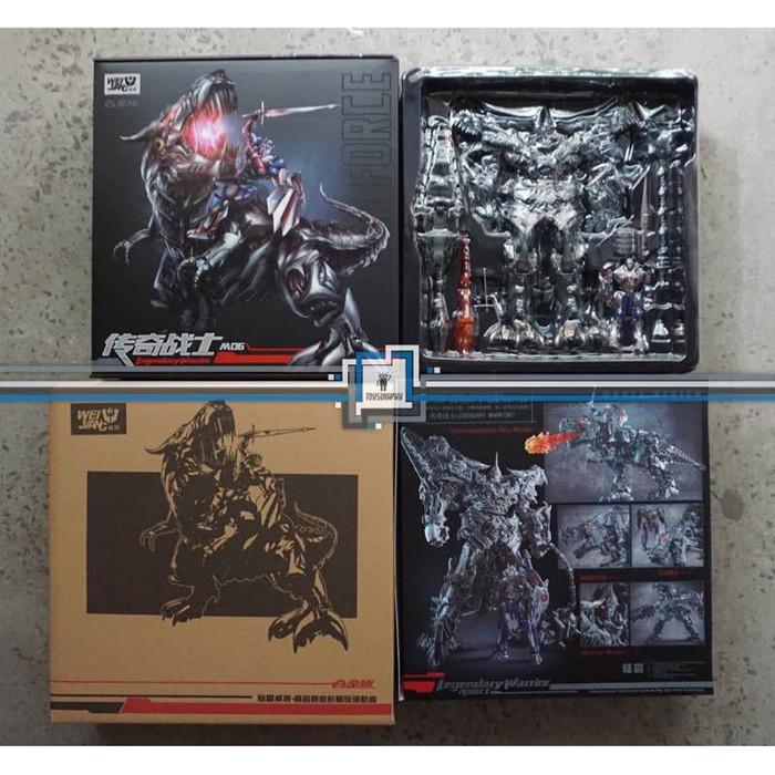 Foto Produk Weijiang M06 Legendary Warrior + OPTIMUS / GRIMLOCK Transformers dari Toysgraphy
