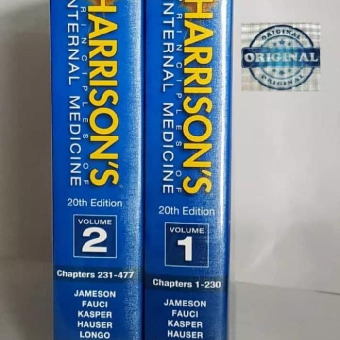 buku harrison s internal medicine ori