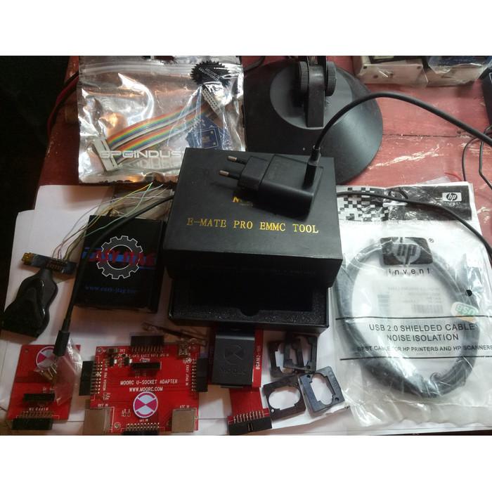 Jual Easy jtag box+Emate pro 6 in 1 socket asli by moorch+mini usb adapter  - Kota Tomohon - Fix_Tech   Tokopedia