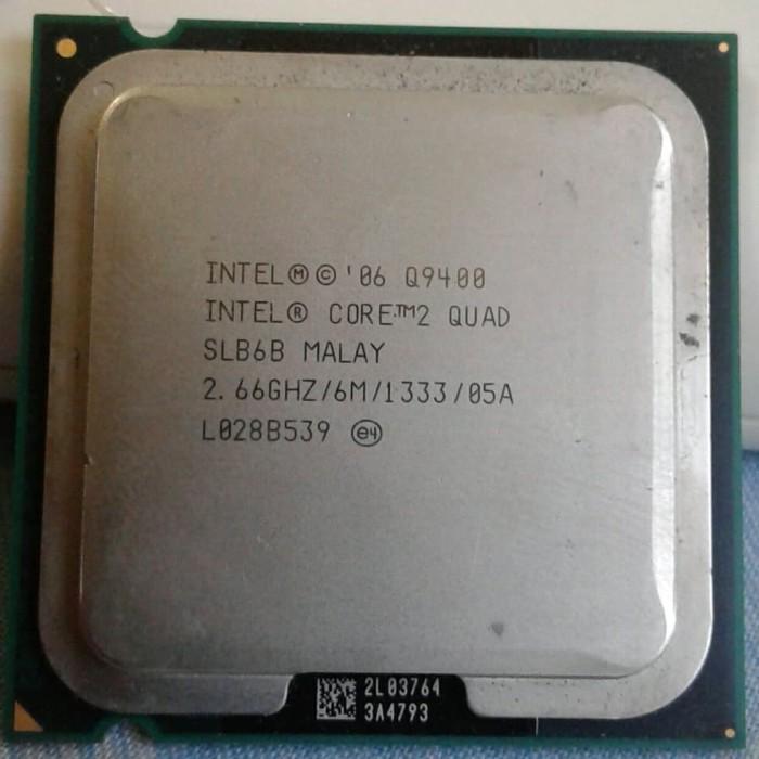 Foto Produk Intel Core2Quad Q9400 LGA 775 dari Cibul Shop