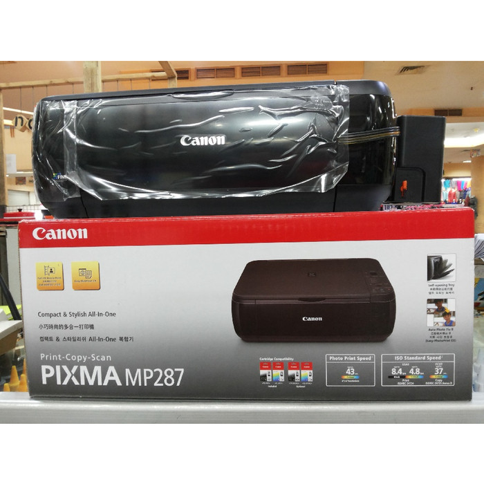 harga Printer canon mp 287 psc + infus kotak kunci Tokopedia.com