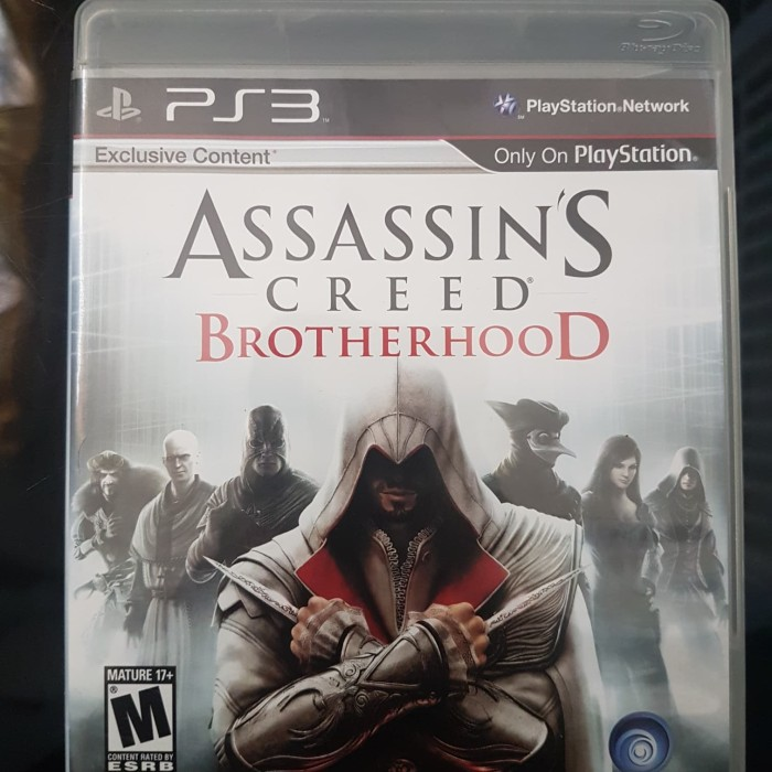 Jual Bd Ps3 Assassin S Creed Brotherhood Ac Brotherhood 2nd