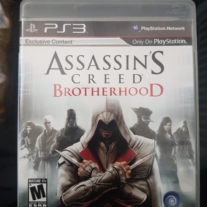 Jual Bd Ps3 Assassin S Creed Brotherhood Ac Brotherhood 2nd