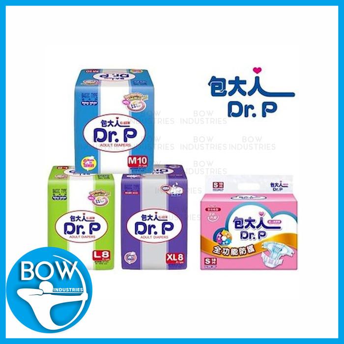 Dr. P Basic Adult Diapers Popok Dewasa