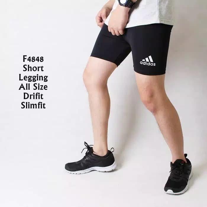 Foto Produk celana baselayer / manset for futsal dan sepeda hitam dari Bolapedia