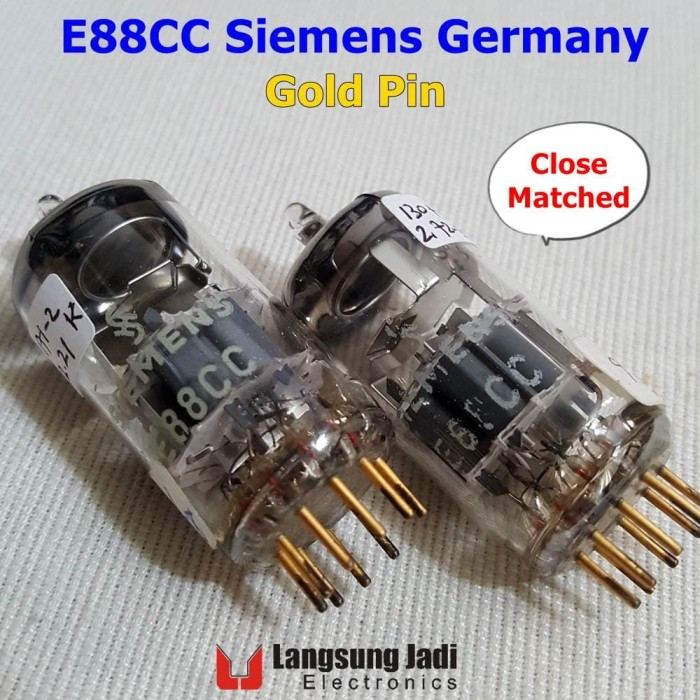 harga E88cc siemens gold pin same code cca 6922 dual triode preamp tube Tokopedia.com