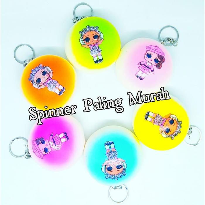 Foto Produk Squishy Bapau Ukuran Besar / Gantungan Kunci Squishy DIAMTER 7 CM dari Spinner Paling Murah