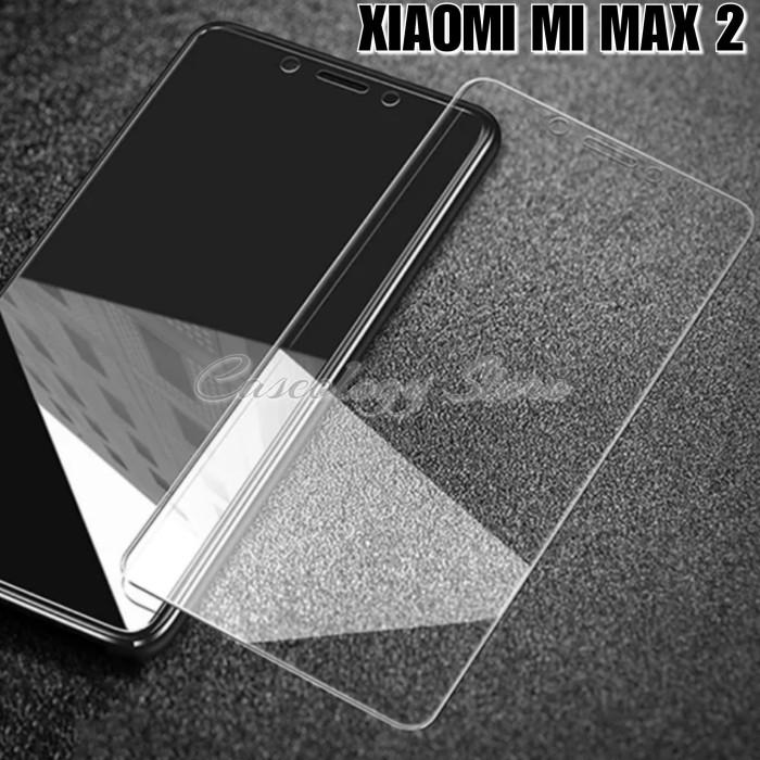 Foto Produk XIAOMI MI MAX 2 TEMPERED GLASS CLEAR XIAOMI MI MAX 2 MAX2 MIMAX2 - Putih dari Caseology Store