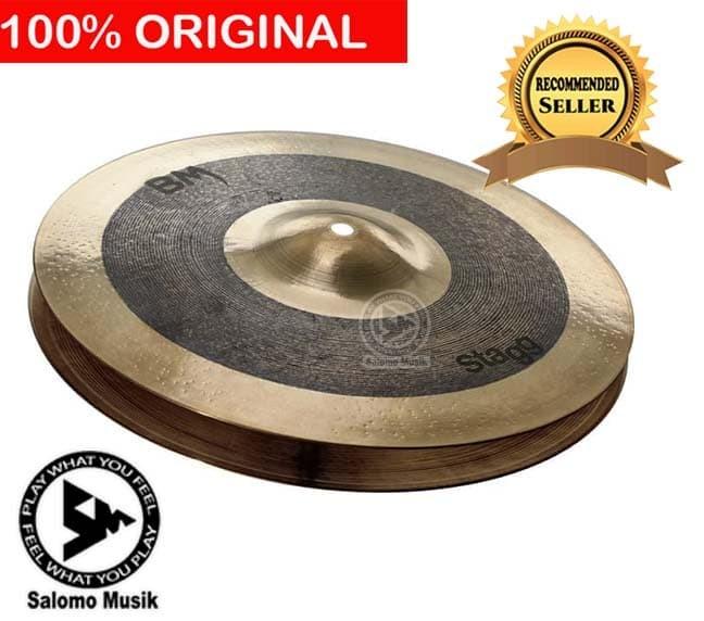 harga Cymbal simbal crash stagg black metal hi-hat pair 14 Tokopedia.com
