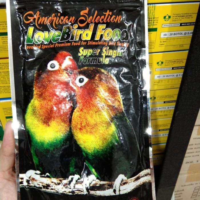 harga Ams american selection lovebird pakan burung lomba bikin gacor ngekek Tokopedia.com